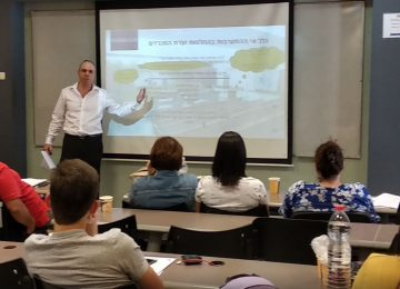 Oren Shabat, Dr | Lecturing before new Public Procurement Officers
